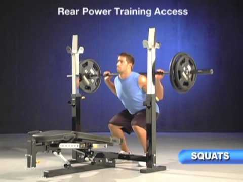 Powertec Olympic Bench Video Mpg Youtube