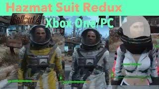 Fallout 4 Xbox One/PC Mods|Hazmat Suit Redux [Nuka~World Support]