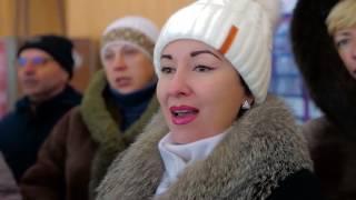 Download Вокальный флешмоб жителей г Снежное На безымянной высоте Mp3 and Videos