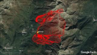 Simulation sans lutte Incendie de Palneca Du 2/08 14h au 3/08 14h