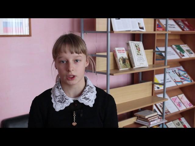 Изображение предпросмотра прочтения – ДарьяВавилкина читает произведение «Ларчик» И.А.Крылова