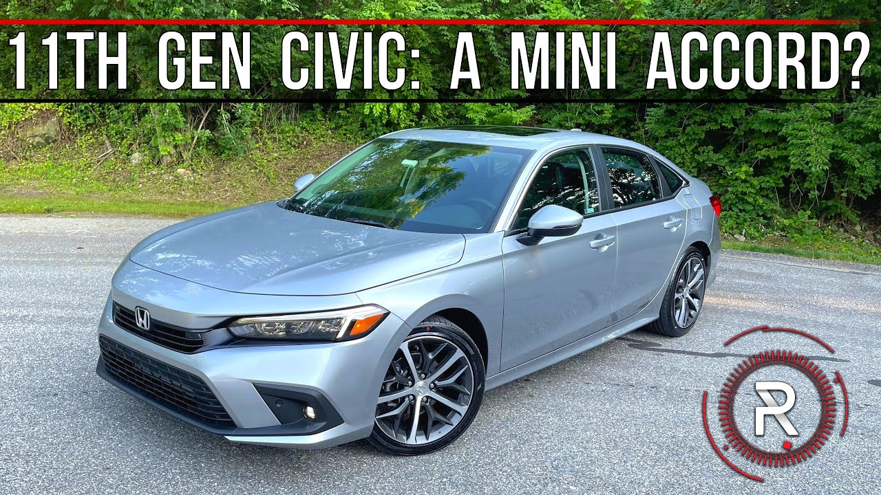 The 2022 Honda Civic Touring is a More Sophisticated Looking Compact Sedan