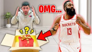 You won't believe what JAMES HARDEN gave me...