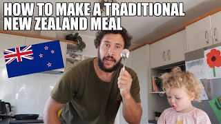 HOW TO MAKE A TRADITIONAL NEW ZEALAND MEAL