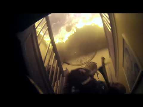 House Fire - Interior Attack & Response Freeport Fire Department
