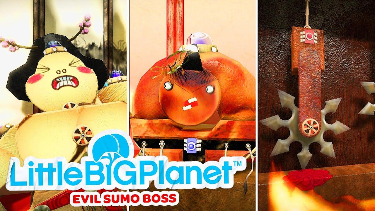 LittleBigPlanet Big Sumo Boss
