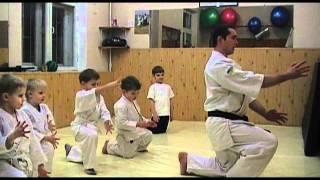 Дети про занятия Айкидо(Маленькие айкидоки додзё