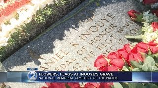 Hawaii leaders remember Sen. Inouye on anniversary of his passing