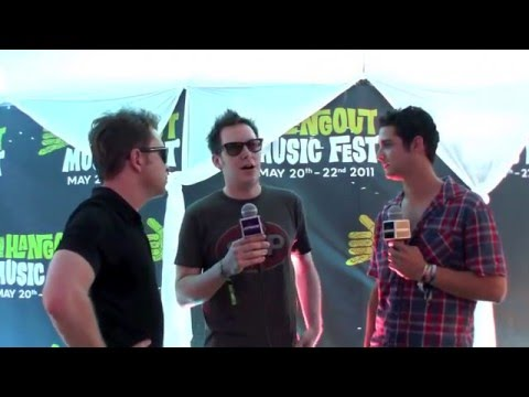 Galactic interview with Wells Adams at Hangout Music Fest 2011