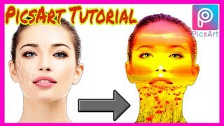 PicsArt Tutorial_PicsArt Photo Edit Tutorial Face Colour Canges_PicsArt Apps Review Shohag Technical