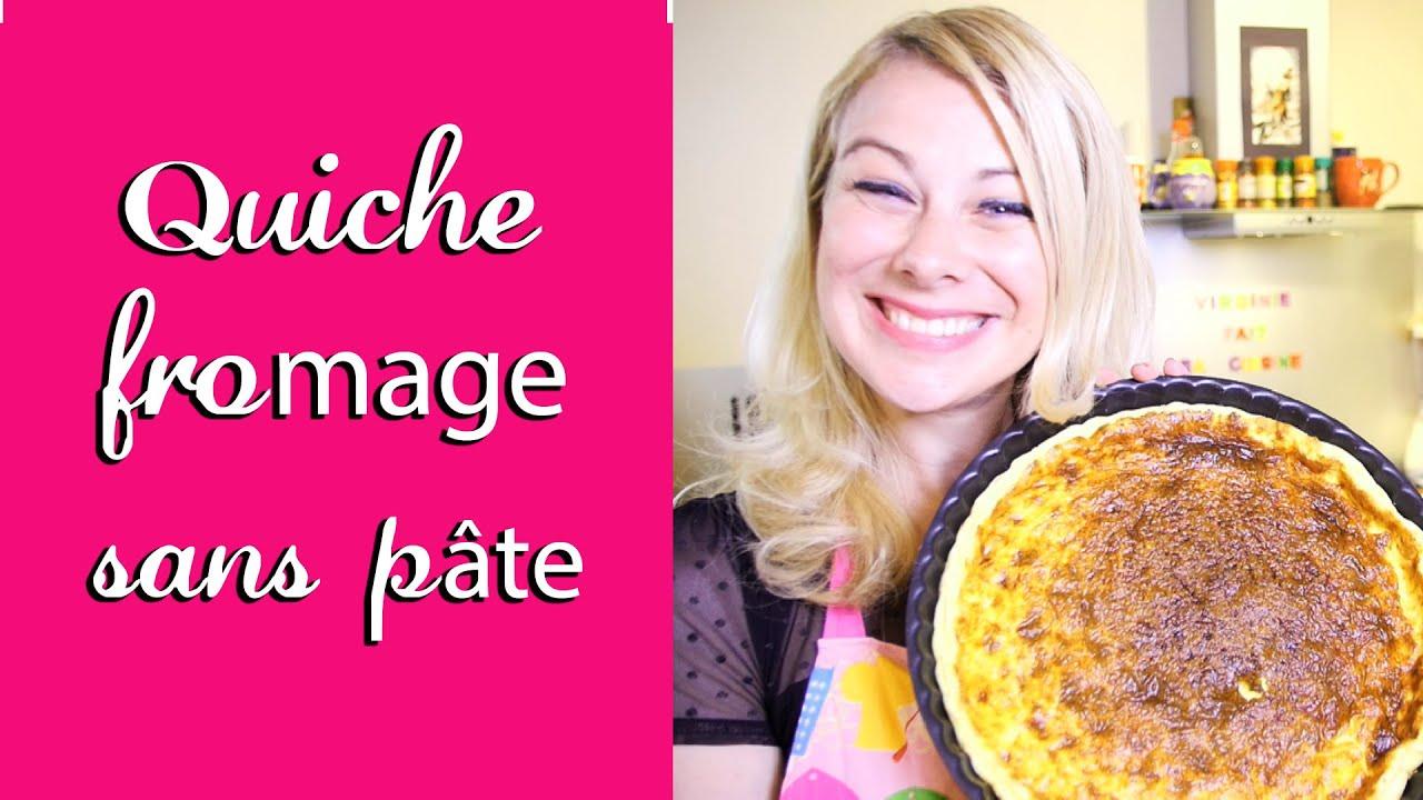 Quiche fromage sans pate recette facile virginie fait sa cuisine 14 youtube - Virgine fait sa cuisine ...