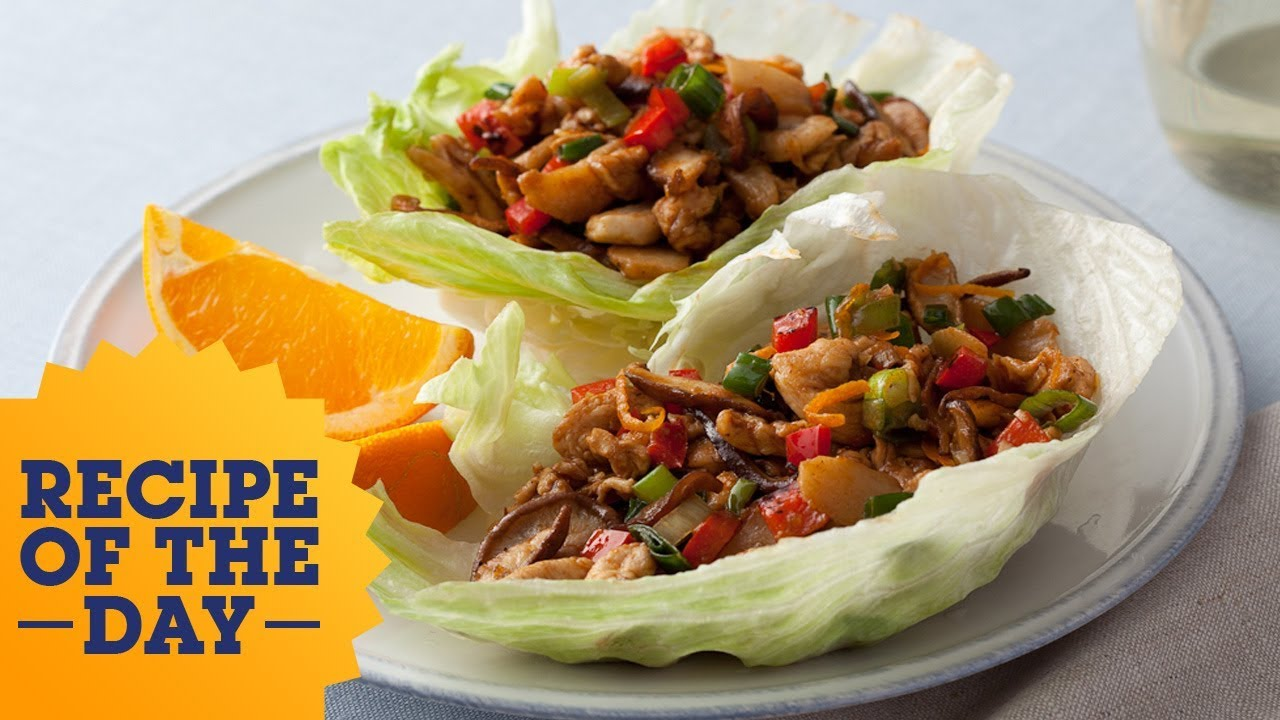 Recipe of the day 30 minute barbecued chinese chicken lettuce wraps recipe of the day 30 minute barbecued chinese chicken lettuce wraps food network forumfinder Gallery