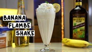 Banana Flambè Shake