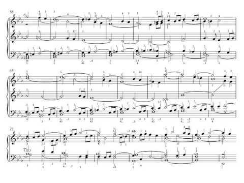 J. S. Bach. La ofrenda musical. 1- Ricercare a 6 BWV 1079. Piano. Partitura. Audición.