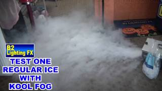 Review the best fog fluid for the American DJ Mister kool low lying cool fogger machine
