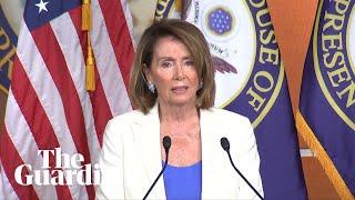 Nancy Pelosi condemns Putin meeting: