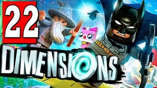 LEGO Dimensions Walkthrough Part 22 ENDLESS SEA OF POSSIBILITIES / HIGH TENSION DIMENSION