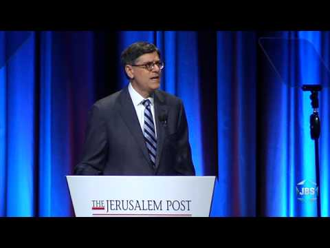 JPost Conference 2015: Jack Lew and Yuval Steinitz