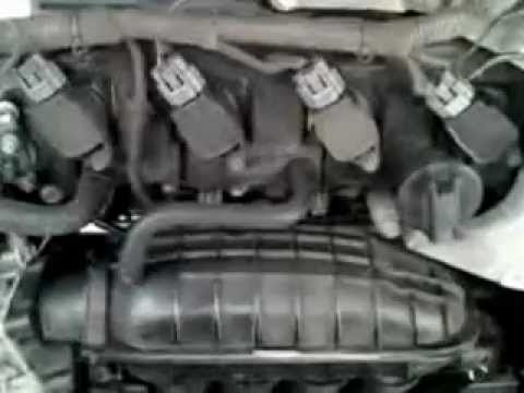 Nissan Altima 2008 tune up spark plugs replacement - YouTube