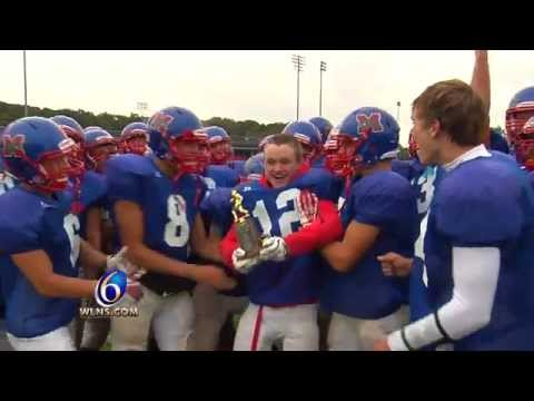 Autistic Football Player Scores Touchdown - Jay Granger