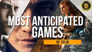 My Most Anticipated Games of 2016 | Mafia 3, Battlefield 1 and More!