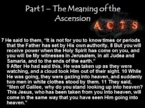 The Meaning of the Ascension