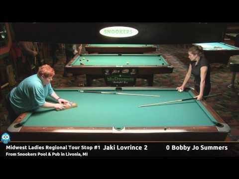 Jaki Lovrince vs Bobbie Jo Summers - 2017 MLRT Stop #1