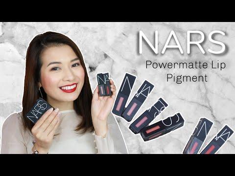 SWATCH & REVIEW ♡ 6 Màu Son NARS PowerMatte Lip Pigment ♡ Pretty.Much