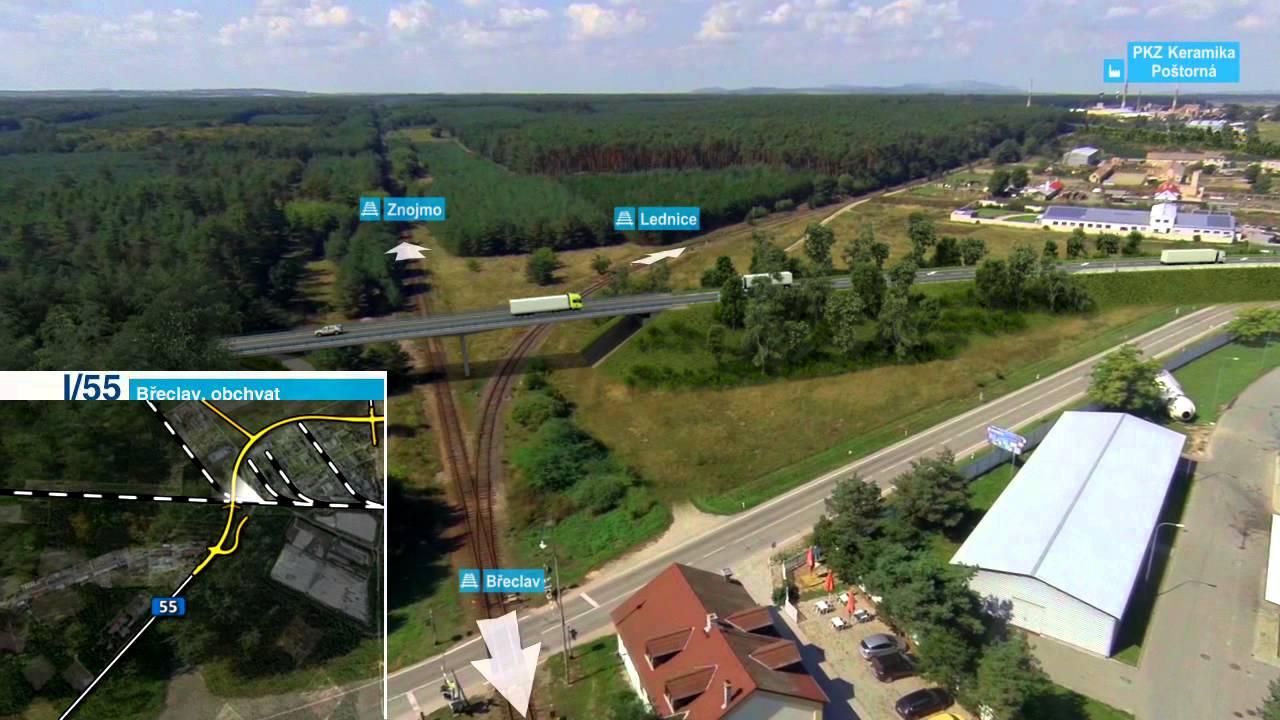 ŘSD ČR - Silnice I/55 Břeclav, obchvat