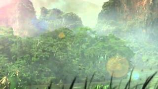 """Matte Painting """"The Mangroves"""""""