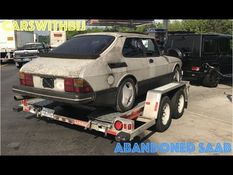 I Found My Old Saab 900 In A Field (and Towed It Home With My G63)
