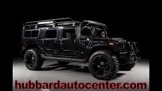 2006 HUMMER H1 Alpha Fully Custom Inside and Out.