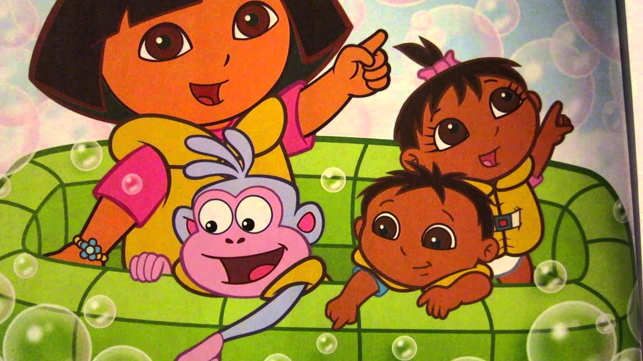 Dora the explorer super babies games