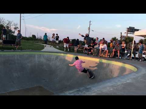 SK8 Charleston SK8 Luau Over and Under with Connor Lincks sponsored by Parrot Surf and Skate