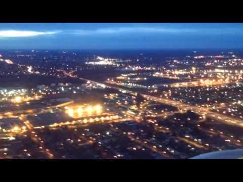 Landing at Rochester International Airport