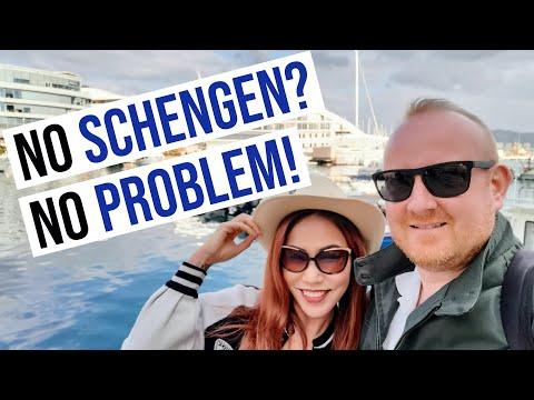 Visit Gibraltar with UK visitor visa (don't need European Schengen visa)