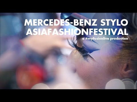 Mercedes-Benz STYLO AsianFashionFestival 2016