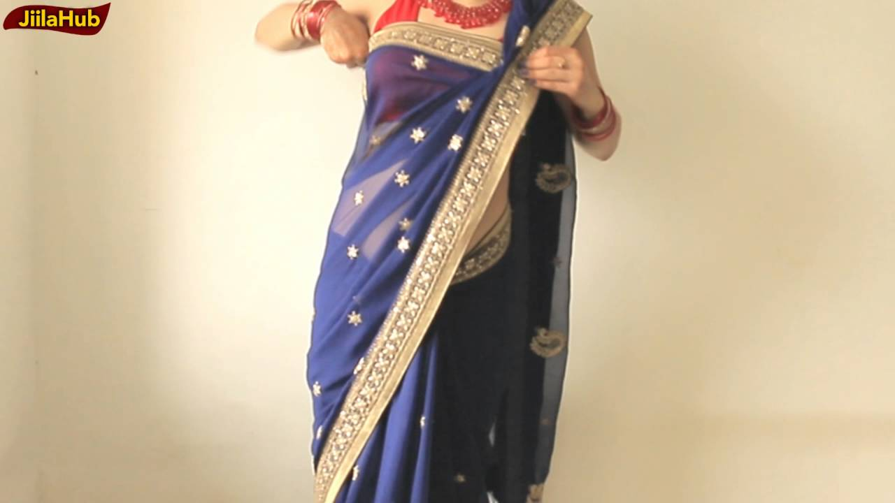 2019 year for lady- How to saree wear easy steps