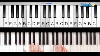 "How to Play ""Itsy Bitsy Spider"" on Piano"