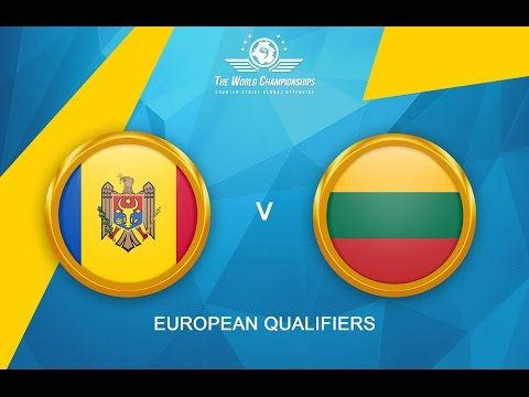 CS:GO - Lithuania vs. Moldova[Mirage] - The World Championships 2016