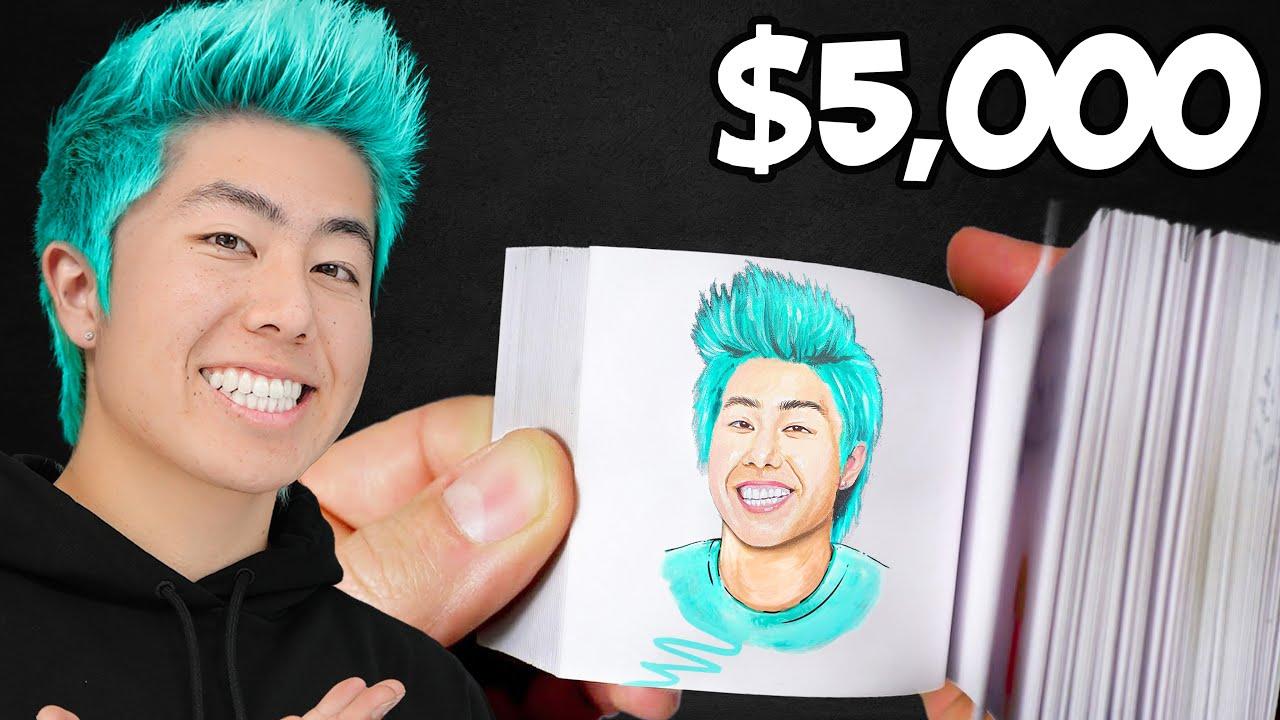Best Flipbook Wins $5,000 Challenge! | ZHC Crafts