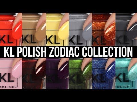KL Polish Zodiac Live Swatches!
