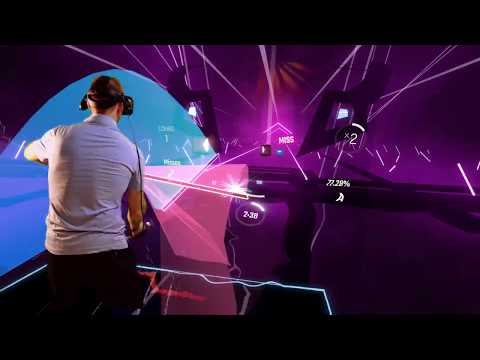 Beat Saber - KDA Popstars Expert+ (Mixed Reality)