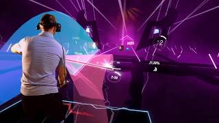beat saber kda popstars expert mixed reality