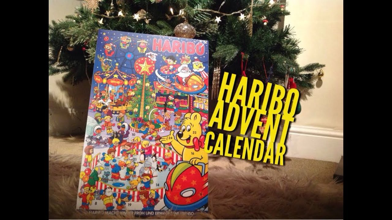 joulukalenteri haribo 2018 HARIBO ADVENT CALENDAR OPENING CHRISTMAS 2017   YouTube joulukalenteri haribo 2018