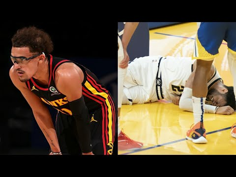 Scary NBA Injuries Of 2021 Season 😱