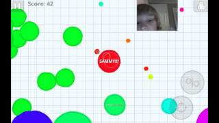 Agar.io Episode 2 -A 7 year old