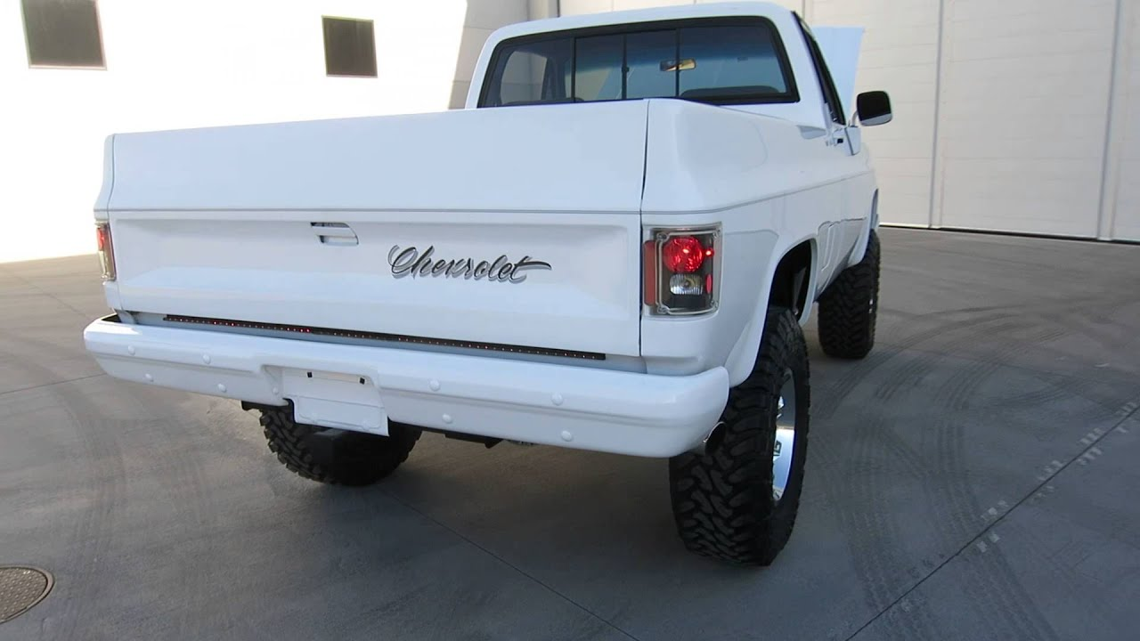 1984 chevrolet k10 4x4 frame off restored 355ci ac for sale 1984 chevrolet k10 4x4 frame off restored 355ci ac for sale scottsdale az joey 480 205 5880 youtube sciox Choice Image