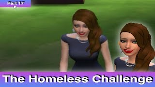 The Sims 4: Homeless Challenge // Getting A Job (Part 17)