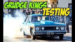 Grudge Kings Testing at Sydney Dragway